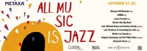 "Laura Perrudin au festival ""All music is jazz"""